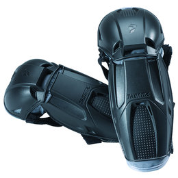 Black Thor Boys Quadrant Elbow Guard Protectors Pair 2014 One Size