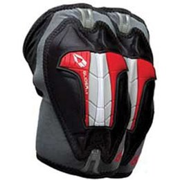 Black, Grey Evs Glider Lt Elbow Guards Black Grey Pair