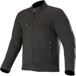 Alpinestars Mens Ray Canvas V2 Textile Jacket Black