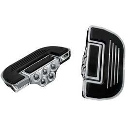 Kuryakyn Premium Drivers Floorboard Inserts for Harley 1984-2012 Touring and FL Softail Models