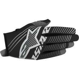 Alpinestars Youth Boys Radar Tracker MX Motocross Offroad Textile Riding Gloves Black