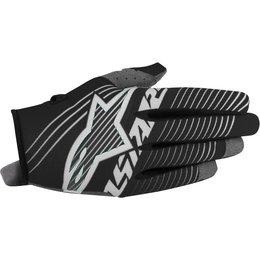 Alpinestars Youth Boys Radar Tracker MX Motocross Offroad Textile Riding Gloves Black