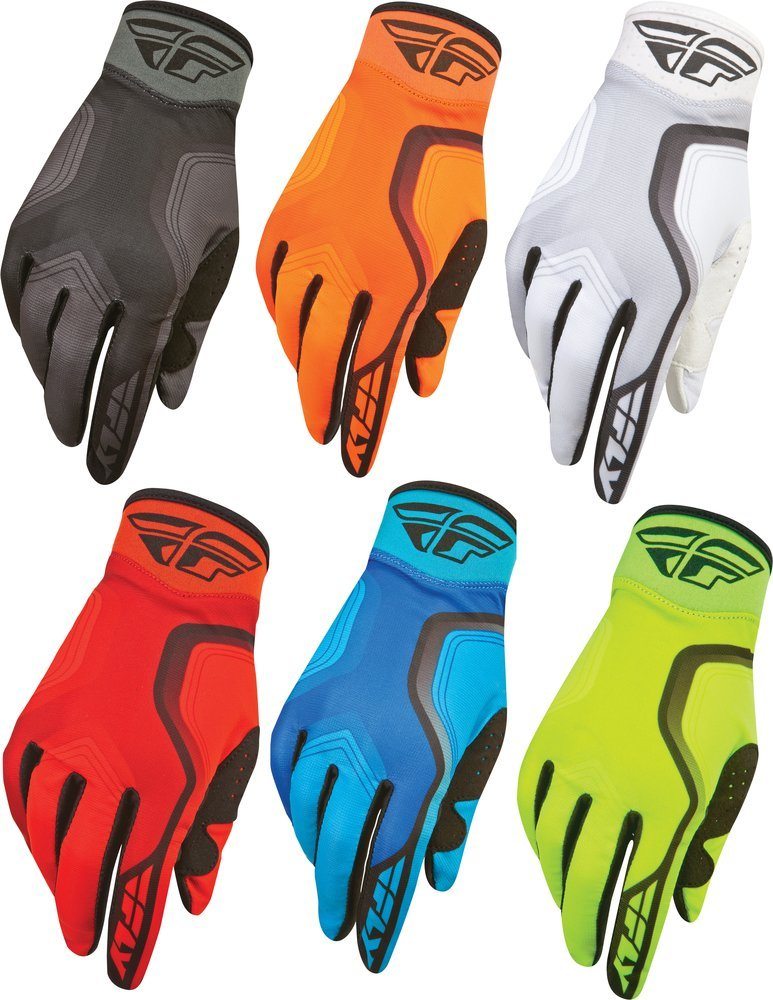 Fly Racing Unisex-Adult Pit Tech Lite Gloves Flo-Orange//Black, Large