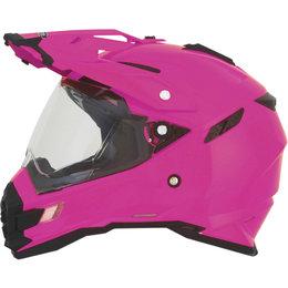 AFX FX-41DS FX41DS Womens Solid Dual Sport Full Face Helmet Pink