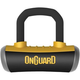 OnGuard Boxer 16MM Disc Lock Grey Shackle 8046 Unpainted