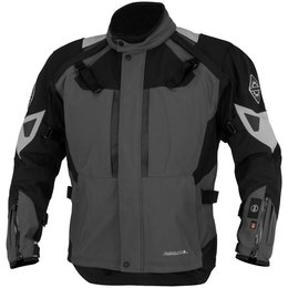 Firstgear Mens Kilimanjaro Armored Textile Jacket Grey