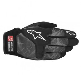 Black, Grey Alpinestars Mech Pro Gloves 2013 Black Grey