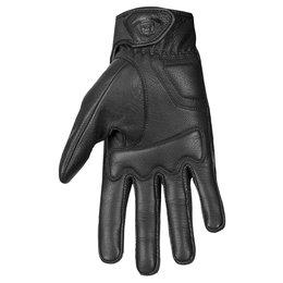 Highway 21 Mens Haymaker Leather Gloves Black