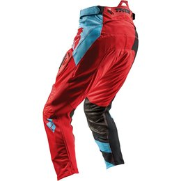Thor Mens Fuse Air Rive MX Pants Red