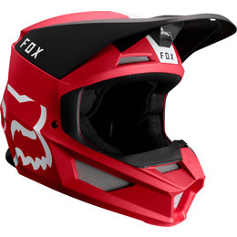 Fox Racing V1 Mata MVRS Helmet Red