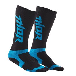Black, Blue Thor Boys Mx Riding Socks 2015 Black Blue