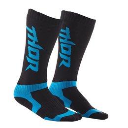 Black, Blue Thor Boys Mx Riding Socks 2015 Black Blue