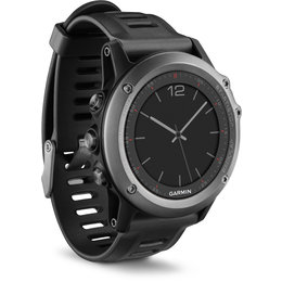 Garmin Fenix 3 Color Display Watch With Altimeter Barometer Compass Thermometer Black