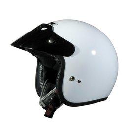AFX FX-75 FX75 Open Face Helmet White