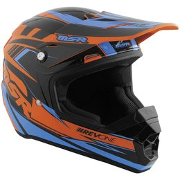 Cyan, Orange Msr Boys Revone Rev-1 Strobe Helmet 2015 Cyan Orange