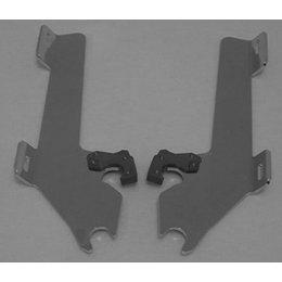 Memphis Shades Batwing Plate Kit Aluminum For Honda VTX1800