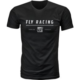 Fly Racing Mens Pursuit Premium Fit T-Shirt Black