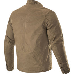 Alpinestars Mens Ray Canvas V2 Textile Jacket Brown