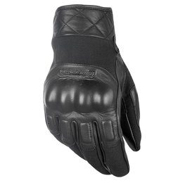 Highway 21 Mens Revolver Leather Gloves Black