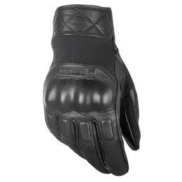 Highway 21 Mens Revolver Leather Gloves Black