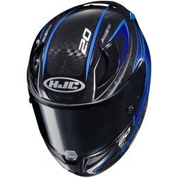 HJC Officially Licensed RPHA 11 Pro Carbon Jackson Storm Full Face Helmet Blue