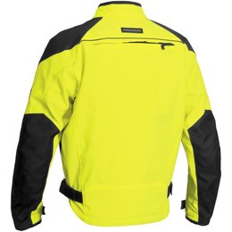 Day Glo Yellow Firstgear Rush Tex Waterproof Textile Jacket