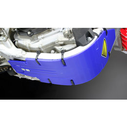 Cycra Skid Plate Speed Armor High Impact Blue For Yam YZF250 YZF 250 2010-2012