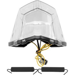 BikeMaster Integrated LED Taillight For Yamaha FZ6R Clear TZY-316-INT Unpainted