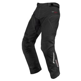 Black Alpinestars Mens Short Andes Drystar Textile Pants 2015