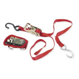 Red Ancra Rat Pack Ratchet Tiedowns 2 Pack Universal