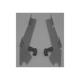 Memphis Shades Batwing Plate Kit Aluminum For Yamaha V-Star 1300