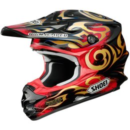 Shoei VFX-W Taka DOT Approved Motocross MX Helmet Red