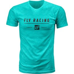 Fly Racing Mens Pursuit Premium Fit T-Shirt Green