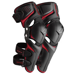 Black, Red Evs Mens Epic Knee Shin Guards Pair 2013 Black Red