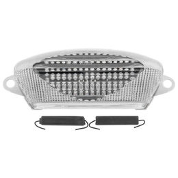 Bikemaster Integrated LED Tail Light Clear Lens For Honda TZH-088-INT Transparent