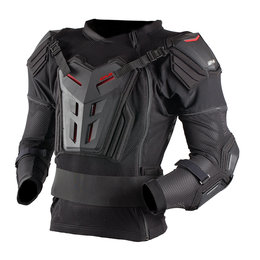 Black, Red Evs Mens Comp Suit Protection Jacket 2013 Black Red