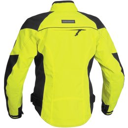 Day Glo Yellow Firstgear Womens Contour Tex Waterproof Textile Jacket