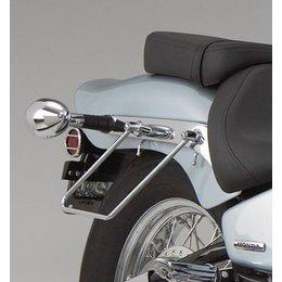 Chrome Show Saddlebag Support Stays For Honda Shadow Vlx