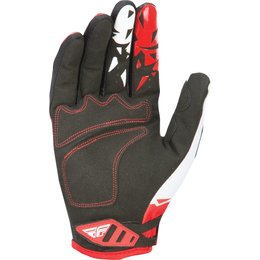 Fly Racing Mens MX Offroad Kinetic Gloves Red