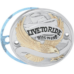 Drag Specialties Live To Ride Points Cover Each For Harley Chrome Gold 0940-0840 Unpainted