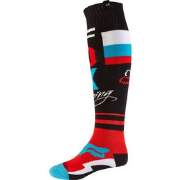 Fox Racing Mens MX FRI Rohr Thin Socks Black