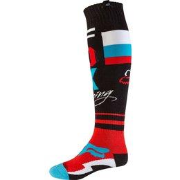 Fox Racing Mens MX FRI Rohr Thin Socks Black