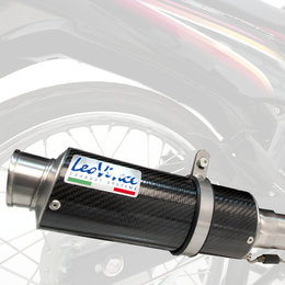 Leo Vince Standard-Mount GP Corsa Racing Slip-On Exhaust For Kawasaki Ninja 300