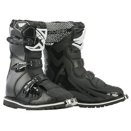 Fly Racing Mens Maverick ATV Dualsport Boots Black