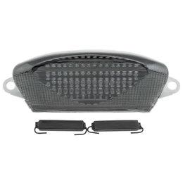 Bikemaster Integrated LED Tail Light Smoke Lens For Honda TZH-088-INT-S Grey