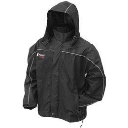 Black Frogg Toggs Elite Highway Rain Jacket Nth65125-01lg