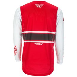 Fly Racing Mens Kinetic Mesh Era Jersey Red