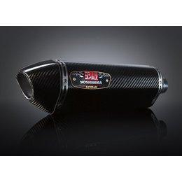 Carbon Fiber Sleeve Muffler With Carbon Fiber Tip Yoshimura R-77 Slip-on Muffler Stainless Carbon Carbon For Kawasaki Zx-6r 09-12