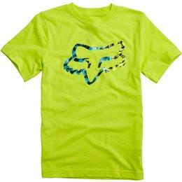 Fox Racing Youth Boys Norcatur T-Shirt Yellow