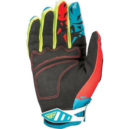 Fly Racing Mens MX Offroad Kinetic Gloves Blue